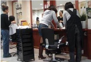 韓国美容室