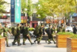 韓国の軍人
