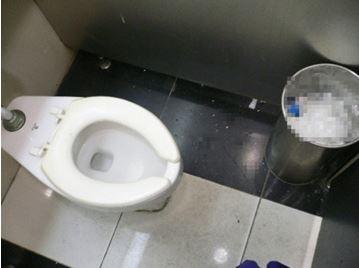 韓国のトイレ