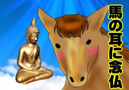馬の耳に念仏 韓国語