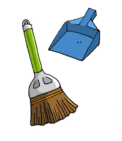 掃除道具 韓国語