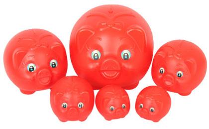 韓国 豚の貯金箱