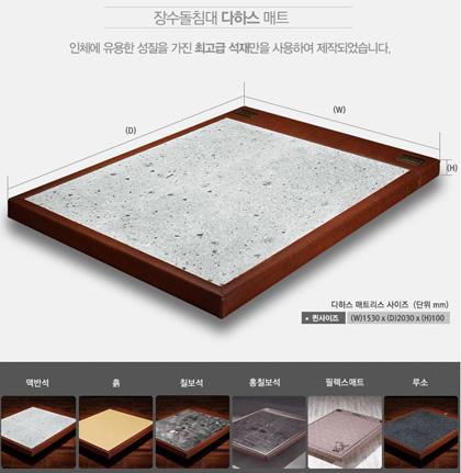 石ベッド カスタマイズ