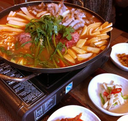 辛い韓国料理